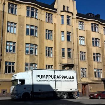 Kuva Pumppurappaus linjasaneeraus rappaus tasoitus laatoitus Pumppausyksikkö kohteessa Kasarmikatu 18 Korasan Oy 350x350